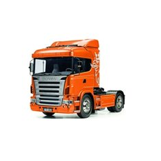 TAMIYA 23689 Färdigmodel, Scania R620 Metal Orange Full Option