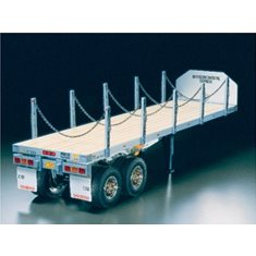 TAMIYA 56306 1/14 Flatbed Semi-Trailer