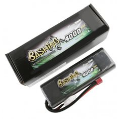 GENS ACE BATTERY LIPO 2S 7.4V-4000-45C(DEANS) 139X47X23MM 200G