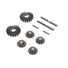 Gear Set, G2 Gear Diff, Metal: 22.