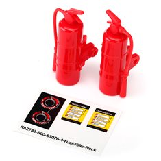Traxxas 8422 Fire Extinguisher Red (2)