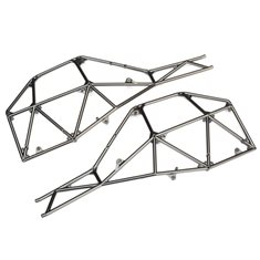 Tube Chassis Side Section Satin Chrome