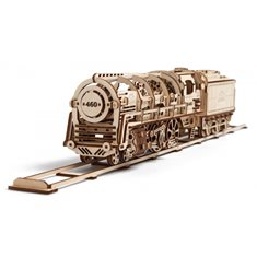 Ugears Steam Locomotiv U-460 with Tender