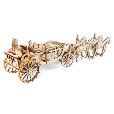 Ugears Royal Carriage (Limited Edition)