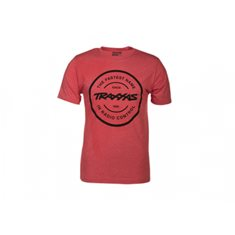 Traxxas T-Shirt Red Circle Traxxas-logo XL (Premium Fit)