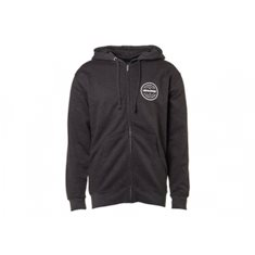 Traxxas Hoodie with Zipper Black Traxxas-logo S