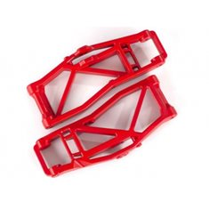 Traxxas 8999R Suspension Arms Lower F/R Red (Pair) WideMaxx
