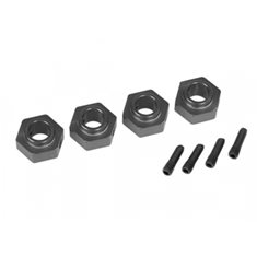 Traxxas 8269A Wheel Hubs 12mm Hex Alu Grey (4) TRX-4