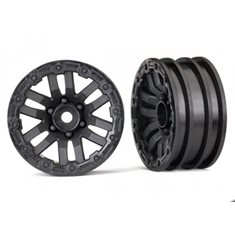 "Traxxas 8271 Wheels TRX-4 Black 1.9"" (2)"