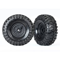 "Traxxas 8273 Tires and Wheels Canyon Trail/Tactical 1.9"" (2)"