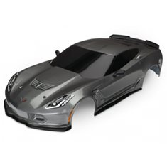 Traxxas 8386A Body Chevrolet Corvette Z06 Grey Painted