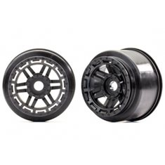 "Traxxas 8971 Wheels Black (17mm) 2,8"" (2)"