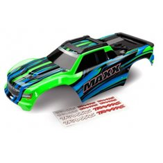 Traxxas 8911G Body Maxx Green