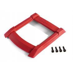 Traxxas 8917R Skid Plate Roof Red Maxx