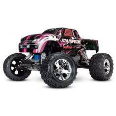 Traxxas Stampede 2WD 1/10 RTR TQ Pink-X med Batteri/Laddare