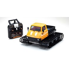 Kyosho Trail King 1:12 Readyset EP Belt Vehicle (KT431S) - T1 Yellow
