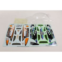CLEAR BODY SHELL MAD BUG VE
