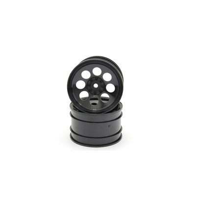 Wheel 8 holes 50mm. (2) Turbo Optima - Black
