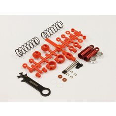FRONT SHOCK SET (2) TOMAHAWK - RED