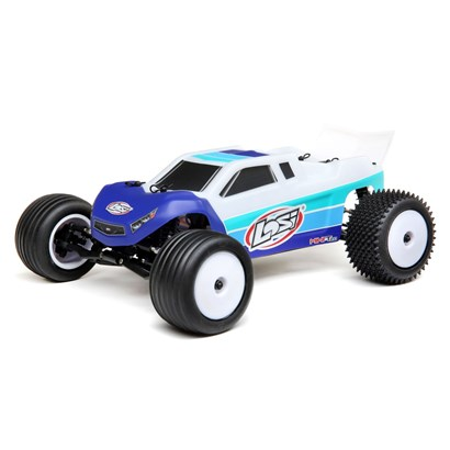 1/18 Mini-T 2.0 2WD Stadium Truck Brushless RTR, Blue