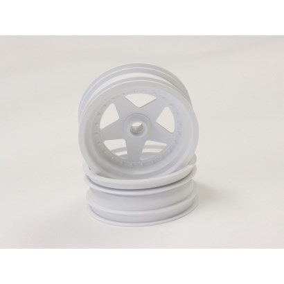 FRONT WHEEL (2) SCORPION 2014 - WHITE 2.2 inch