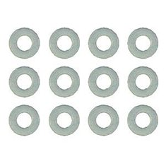 Nylon Spacers, 1/32 in. (.030 in) 4187.