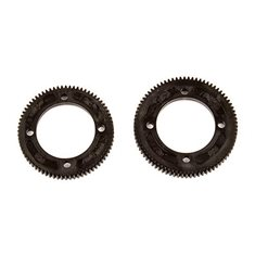 B74 Center Diff Spur Gears (72T-48P, 78T-48P 92149