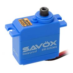 Savöx SW-0250MG Servo 5Kg 0,11s Metalldrev WP Mini