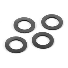 XRAY 368091 RUBBER SHOCK ABSORBER SHIM FOR ALU CAP (4)